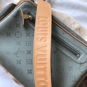 Louis Vuitton Titanium Monogram Camera Bag FW 2018